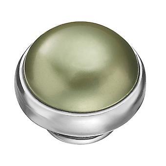 KAMELEON Amazon Waters Green Pearl Sterling Silver JewelPop KJP154