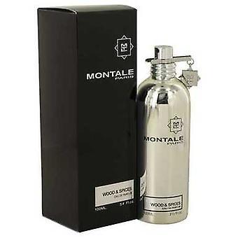 Montale hout & specerijen van Montale Eau de parfum spray 3,4 oz (mannen) V728-540118