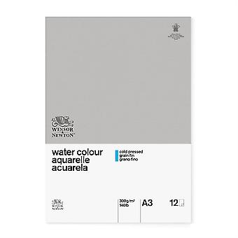 Winsor & Newton Classic Water Colour Pad CP 300gsm A3 (Gummed)
