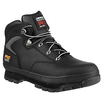 Timberland Pro Mens Euro Hiker Lace Up Safety Boot Black