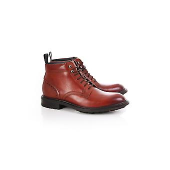 Ted Baker Mens Wottsn Burnished Leather Boots
