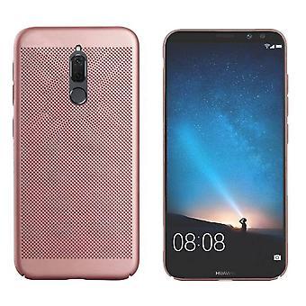 Huawei Mate 10 Lite Case Ros' Gold - Otwory siatkowe
