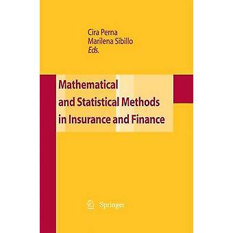 Matematiske og statistiske metoder for forsikring og finans av Perna & CIRA