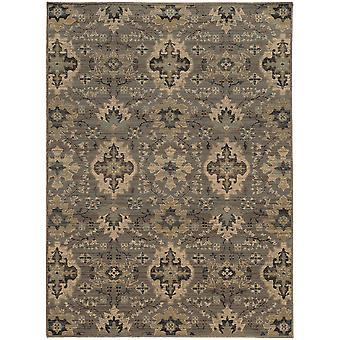 Heritage 8028e blue/ivory indoor area rug rectangle 7'10