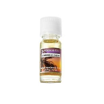 Bad & Body Works Slatkin & Co Caribbean Salsa hjem Fragrance Oil. 33 oz/9,7 ml