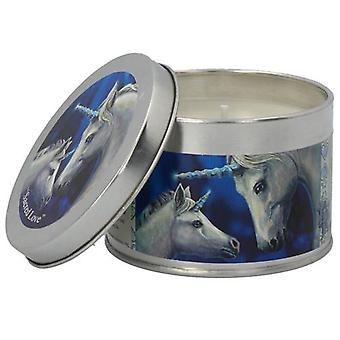 Sacred Love Unicorn Candle in a Tin