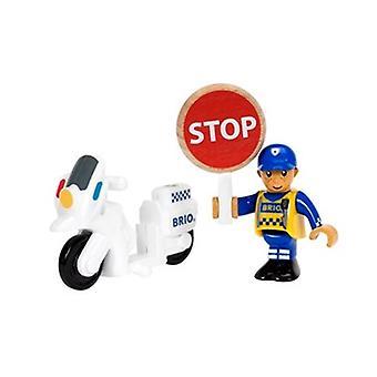 BRIO Police Motorcycle 33861