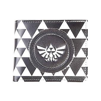 Zelda plånbok Chequred Hyrule logo nya officiella Nintendo Bifold