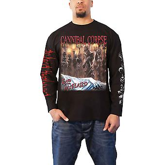 Cannibal Corpse T Shirt Tomb Of The Mutilated Official Mens Black Long Sleeve
