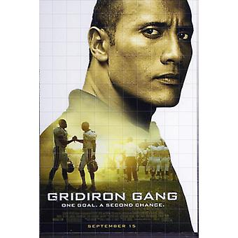 Gridiron Gang (Single Sided Regular) Original Cinema Poster (Single Sided Regular) Original Cinema Poster Gridiron Gang