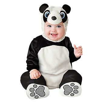 Baby Panda Costume Ages 0-24 Months Halloween Cute Fancy Dress