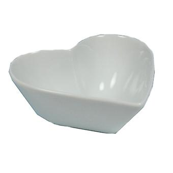 Bowl Heart White 13 cm