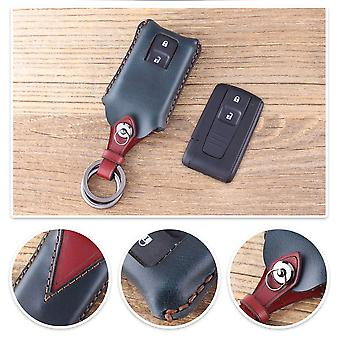 Genuine leather car key case Toyota Prius