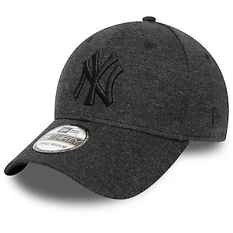 New Era 39Thirty Cap - JERSEY New York Yankees schwarz