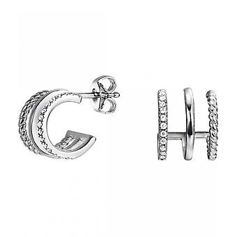 Esprit piercing earrings in silver ESER92923A000