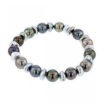 Luna-Pearls - Bracelet - Pearl Bracelet Tahiti-Zuchtperle 8-10 mm 2040310