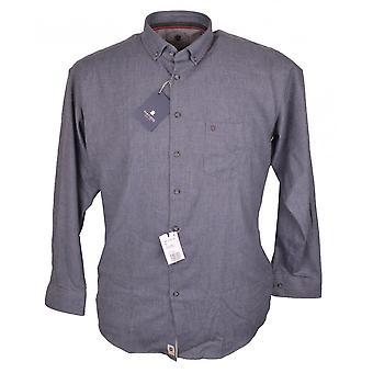 HATICO Hatico Plain Brush Cotton Casual Shirt