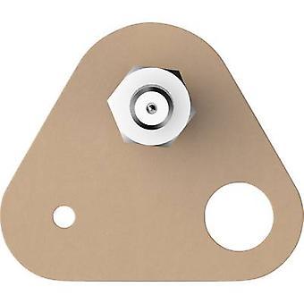 tesa Tesa ® Klebende skrue trekantet Beige Innhold: 2 stk(er)