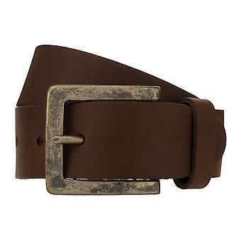 Teal Belt Men's Belt Leather Belt Jeans Belt Brown 8330