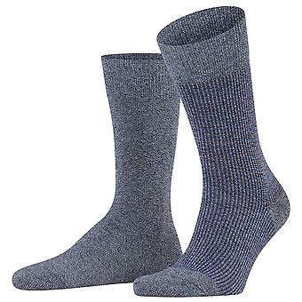 Esprit kontrast Pique 2-Pak sokker-Flint grå