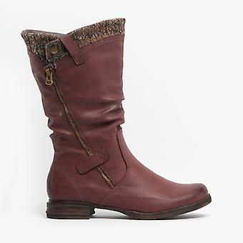 Romika Venus 05 Ladies Tall Boots Bordo
