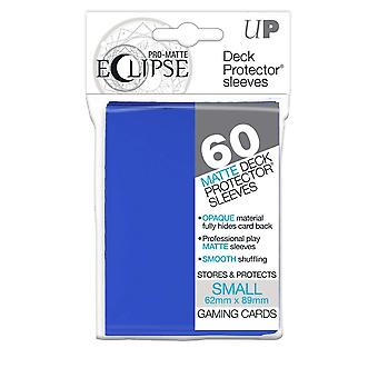 Pro-matte Eclipse Pacific Blue Small Deck Protector ermet 60ct (pakke med 12)