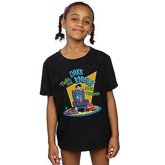 DC Comics meisjes Super vrienden Dark Knight voor Kerstmis T-shirt