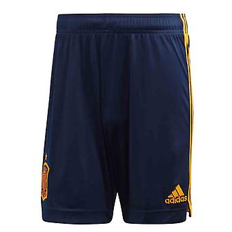 2020-2021 Spain Home Adidas Football Shorts (Blue)