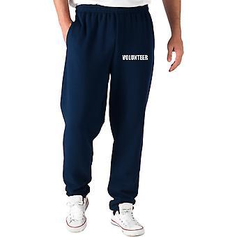 Navy blue trk0511 volunteer tracksuit pants