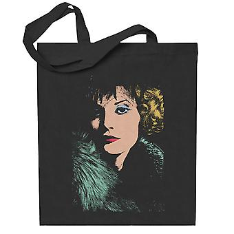 TV Times Singer And Model Sandy Shaw Totebag