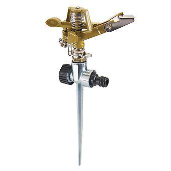 Spiked Impulse Sprinkler - 1/2in Male - 300mm