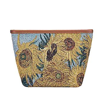 Van Gogh-Zonnebloemen make-up tas door signare tapijten/make-up-Art-VG-sunf
