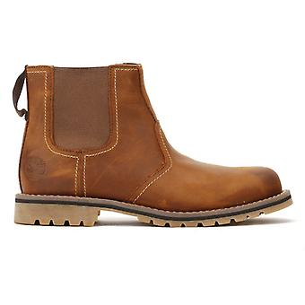 Timberland Larchmont menns Oakwood Brown Chelsea Boots