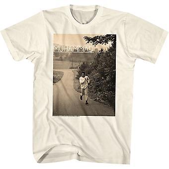 American Classics Muhammad Ali running T-skjorte-naturlig
