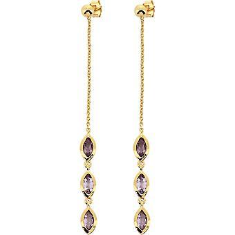Kira Dor earrings - Am thyste