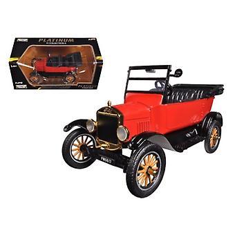 1925 Ford Model T Touring Red 1/24 Diecast Modellauto von Motormax