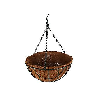 Hanging Basket With Liner & Chain 30 Cm