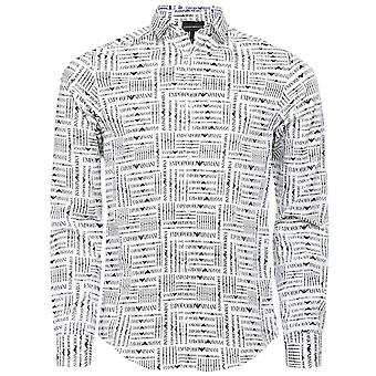 Armani Logo Printed Shirt