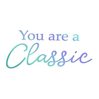 Couture Creations Men's Collection You Are A Classic Mini Stamp