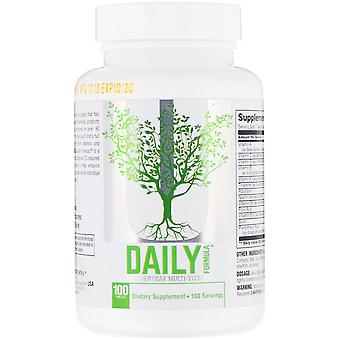 Universal Nutrition Daily Formula Dietary Supplement - 100 Tablets