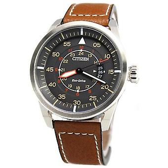 Citizen Eco-Drive Aviator Power reserve Aw1360-12h mænd ' s Watch