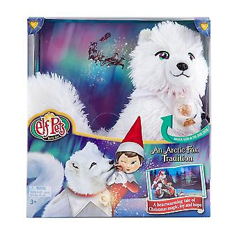 Elf On The Shelf Elf Pets -  Artic Fox With Book