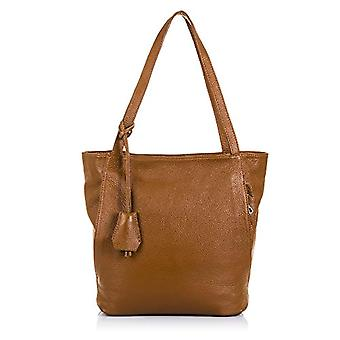 FIRENZE ARTEGIANI. Bag shopping bag real leather woman. Authentic leather bag finished Dollar. Long shoulder handle. MADE IN ITALY. REAL ITALIAN SKIN. 37x30x13cm. Color:Leather