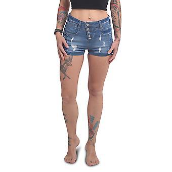 YAKUZA Women's Denim Shorts Fly