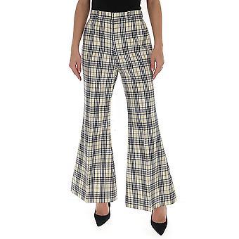 Gucci 607928zac7e4632 Women's White/blue Cotton Pants