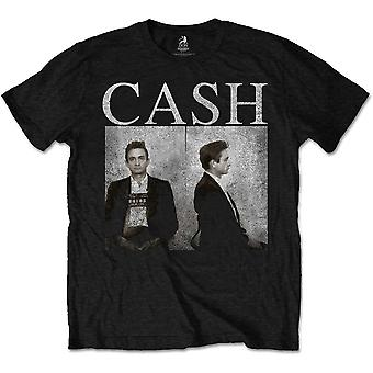 Johnny Cash Police Mugshot Official Tee T-Shirt Mens Unisex