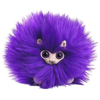 "Puffskeins Mini Purple Pygmy Puff Plush Toy 6"""