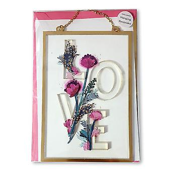 Hallmark Signature Love 3d Hanging Keepsake Mothers Day Card 25519787