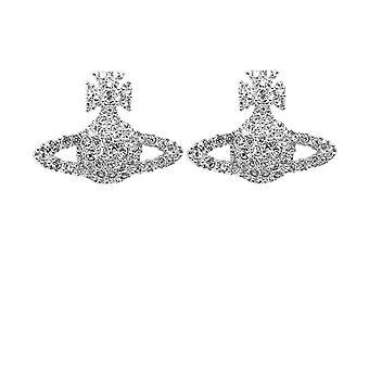 Vivienne Westwood Accessoires Grace Bas Relief Stud Boucles d'oreilles