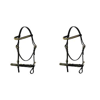 Hy In-Hand Leather Bridle